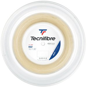 テクニファイバー Tecnifibre テニスガット・ストリング  TGV  ティージーブイ  1.30mm  200mロール TFR206|kpi