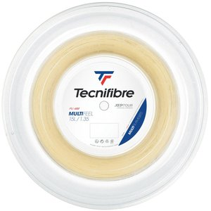 テクニファイバー Tecnifibre テニスガット・ストリング  MULTIFEEL  マルチフィール  1.35mm  200mロール TFR222|kpi