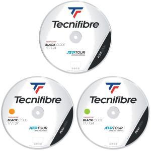 テクニファイバー Tecnifibre テニスガット・ストリング  BLACK CODE  ブラックコード  1.24mm  200mロール TFR411|kpi