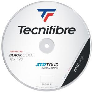 テクニファイバー Tecnifibre テニスガット・ストリング  BLACK CODE  ブラックコード  1.28mm  200mロール TFR412|kpi