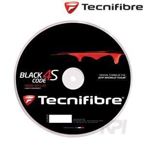 Tecnifibre テクニファイバー 「BLACK CODE CODE 4S 1.20 ブラックコード4S  200mロール FFR516」硬式テニスストリング ガット|kpi