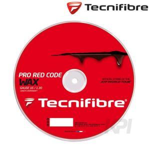 『即日出荷』 Tecnifibre テクニファイバー 「PRO RED CODE WAX 1.30 プロレッドコードワックス 200mロール TFR522」硬式テニスストリング ガット|kpi