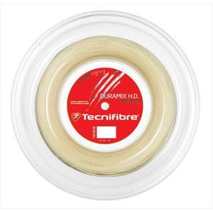Tecnifibre テクニファイバー 「DURAMIX HD デュラミックスHD  200mロール TFR701」硬式テニスストリング ガット|kpi