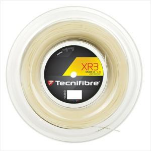 Tecnifibre テクニファイバー 「XR3 エックスアール3  200mロール TFR911」硬式テニスストリング ガット|kpi