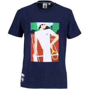 テニスウェア メンズ ラコステ LACOSTE TEE_&_TURTLE_NECK_SHIRTS TシャツTH2141-166 2017SS 即日出荷 2017新製品|kpi
