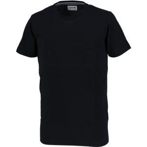 テニスウェア メンズ ラコステ LACOSTE 半袖Tシャツ TH8140-031 2017FW 即日出荷 [ポスト投函便対応]|kpi