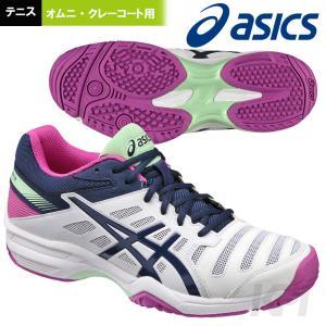アシックス asics テニスシューズ メンズ レディース レディゲルソリューションスラム3OC TLL775-0149 オムニ・クレーコート用 2017新製品|kpi