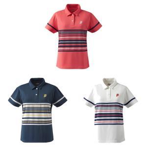 プリンス Prince テニスウェア レディース ゲームシャツ TML169T 2019SS[ポスト投函便対応]|kpi