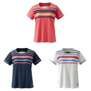 プリンス Prince テニスウェア レディース ゲームシャツ TML170T 2019SS[ポスト投函便対応]|kpi