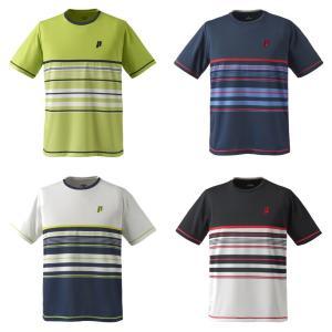 プリンス Prince テニスウェア ユニセックス ゲームシャツ TMU167T 2019SS[ポスト投函便対応]|kpi