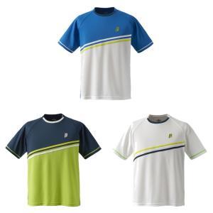 プリンス Prince テニスウェア ユニセックス ゲームシャツ TMU168T 2019SS[ポスト投函便対応]|kpi