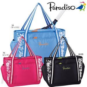 PARADISO パラディーゾ 「フラワーシリーズ トートバッグ TRA740」テニスバッグ