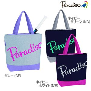 パラディーゾ PARADISO テニスバッグ・ケース  ビッグロゴトート TRA811|kpi