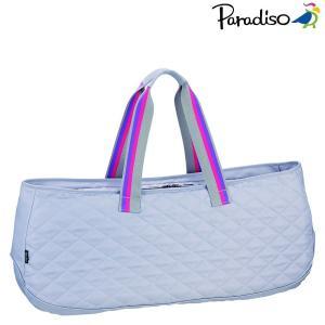 パラディーゾ PARADISO テニスバッグ・ケース  18AWキルトワイドラケットバッグ TRA860 kpi