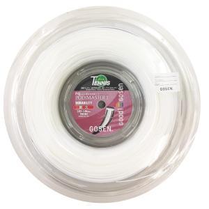 『即日出荷』 「均一セール」GOSEN ゴーセン 「エフジー ポリマスター1 FG POLYMASTER I 200mロール」ts0102 硬式テニスストリング ガット|kpi