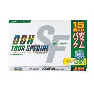 ダンロップ DUNLOP ゴルフボール  DDHツアースペシャルSF 15球入 TSSF3L-15|kpi