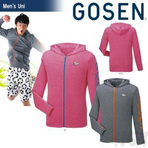 ゴーセン GOSEN テニスウェア UNI ジップアップジャケット UT1602 2016SS|kpi