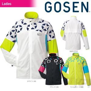 ゴーセン GOSEN テニスウェア レディース ウィンドウォーマージャケット(裏起毛) UY1507|kpi