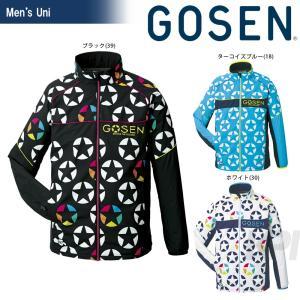 ゴーセン GOSEN テニスウェア UNI ウィンドウォーマージャケット(裏起毛) UY1600 2016FW|kpi