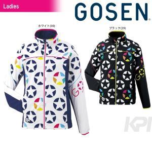 ゴーセン GOSEN テニスウェア Women's レディース ウィンドウォーマージャケット(裏起毛) UY1601 2016FW|kpi