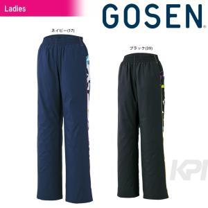 ゴーセン GOSEN テニスウェア Women's レディース ウィンドウォーマーパンツト(裏起毛) UY1603 2016FW|kpi