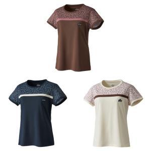 プリンス Prince テニスウェア レディース ゲームシャツ バドミントンウェア WF0058 2...