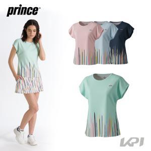 プリンス Prince テニスウェア レディース ゲームシャツ WF1054 2021FW