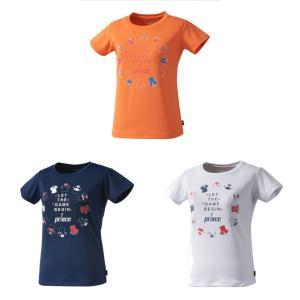 プリンス Prince テニスウェア ジュニア ガールズTシャツ WJ104G 2019SS[ポスト投函便対応]|kpi