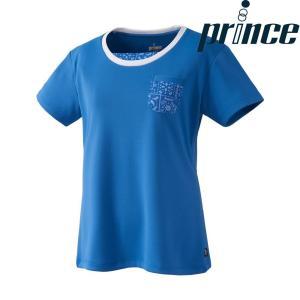 プリンス Prince テニスウェア レディース ゲームシャツ WL8080 2018FW[ポスト投函便対応]|kpi