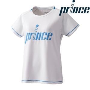 プリンス Prince テニスウェア レディース Tシャツ WL8084 2018FW[ポスト投函便対応]|kpi