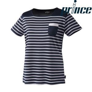 プリンス Prince テニスウェア レディース ゲームシャツ WL8085 2018FW[ポスト投函便対応]|kpi