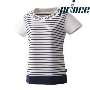 プリンス Prince テニスウェア レディース ゲームシャツ WL8086 2018FW[ポスト投函便対応]|kpi