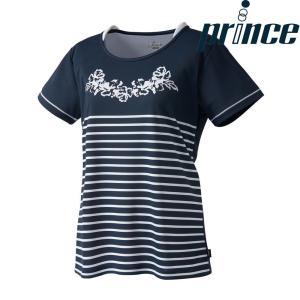 プリンス Prince テニスウェア レディース ゲームシャツ WL8089 2018FW[ポスト投函便対応]|kpi