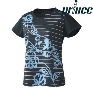 プリンス Prince テニスウェア レディース ゲームシャツ WL8091 2018FW[ポスト投函便対応] kpi