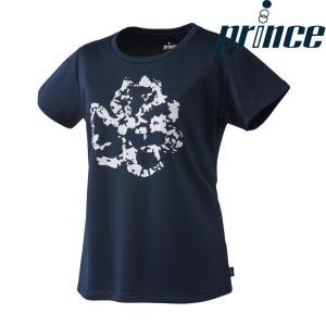 プリンス Prince テニスウェア レディース ゲームシャツ WL8094 2018FW[ポスト投函便対応]|kpi