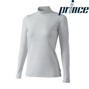 プリンス Prince テニスウェア レディース ウォームロングスリーブシャツ WL8097 2018FW[ポスト投函便対応]|kpi