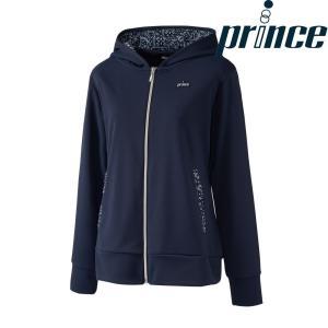 プリンス Prince テニスウェア レディース フーデッドジャケット WL8150 2018FW|kpi