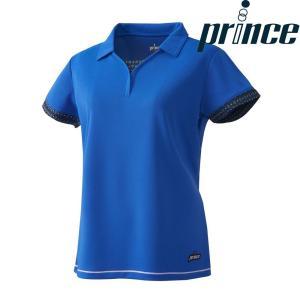 プリンス Prince テニスウェア レディース ゲームシャツ WL8153 2018FW[ポスト投函便対応]|kpi