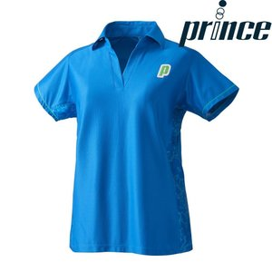 プリンス Prince テニスウェア レディース ゲームシャツ WL8161 2018FW[ポスト投函便対応] kpi