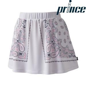 プリンス Prince テニスウェア レディース スカート WL8338 2018FW|kpi