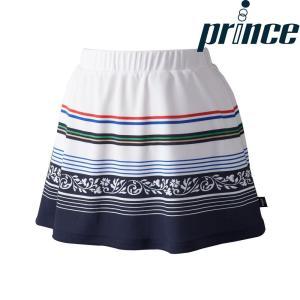 プリンス Prince テニスウェア レディース スカート WL8345 2018FW|kpi