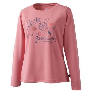 プリンス Prince テニスウェア レディース ロングスリーブシャツ WL9042 2019SS[ポスト投函便対応]|kpi
