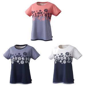 プリンス Prince テニスウェア レディース ゲームシャツ WL9044 2019SS[ポスト投函便対応]|kpi