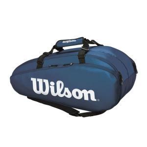 ウイルソン Wilson テニスバッグ・ケース  TOUR 2 COMP LARGE  ラケットバッグ ラケット9本収納可能  WR8004002001|kpi