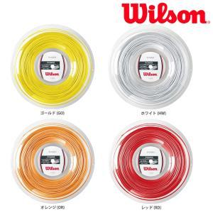 ウイルソン Wilson バドミントンガット・ストリング  Smash 66 200m Reel WRR9430|kpi