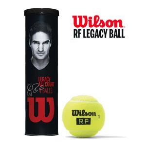 Wilson ウイルソン RF LEGACY BALL ロジャー・フェデラー RFレガシーボール 1缶〔4球〕 テニスボール 『即日出荷』|kpi