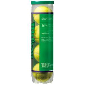 Wilson ウイルソン 「STARTER PLAY BALL スターター・プレイ・ボール  WRT137400」テニスボール|kpi