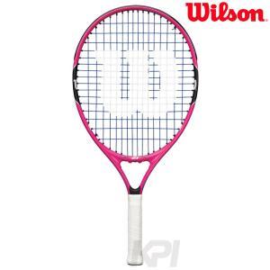 「ガット張り上げ済み」Wilson ウイルソン 「BURN PINK 21 バーンピンク21  WRT218000」ジュニアテニスラケット|kpi