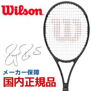 「RF LEGACYボール1缶プレゼント」Wilson 硬式テニスラケット 2019 PRO STAFF RF97 Autograph Black in Black プロスタッフ RF 97 オートグラフ WRT73141S|kpi