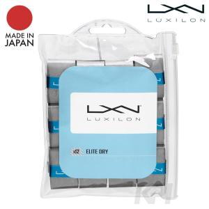 『即日出荷』「2017新製品」LUXILON(ルキシロン)「ELITE DRY OVERGRIP(エリートドライオーバーグリップ) 12PK WRZ470712」オーバーグリップテープ